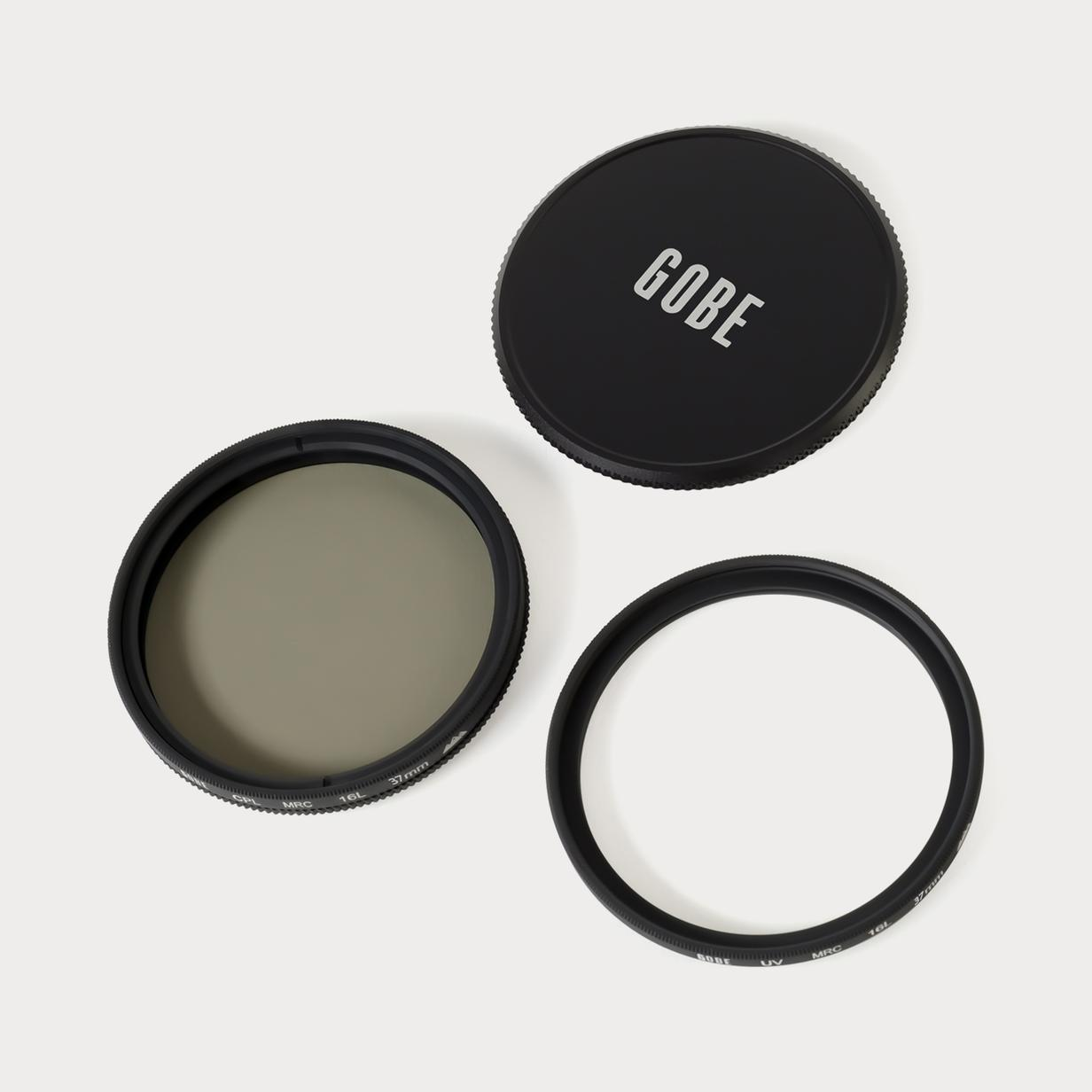 3Peak Lens Filter Kit Circular Polarizing CPL Gobe 67mm UV