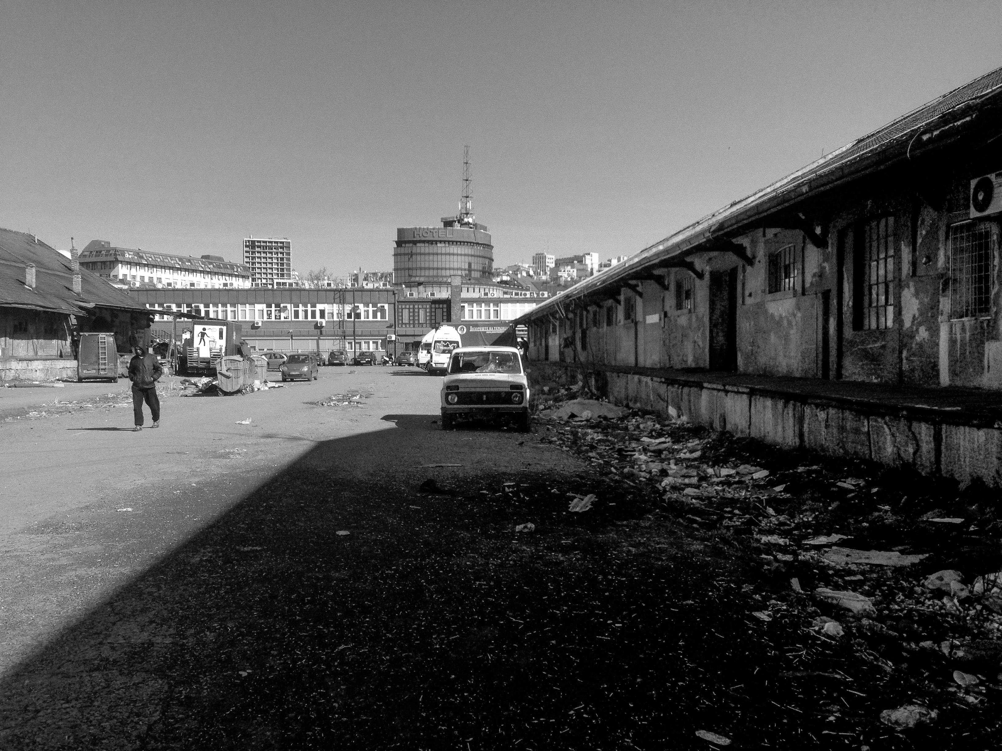 Black and White Barracks - Serbia